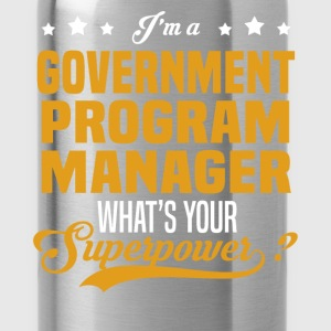 Government Program Manager - Water Bottle