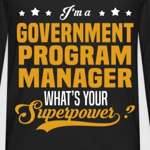 Government Program Manager - Men's Premium Long Sleeve T-Shirt