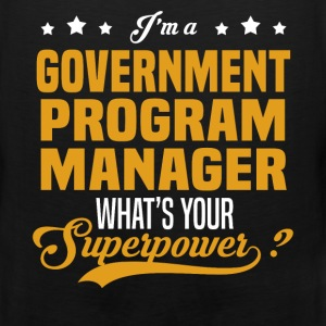 Government Program Manager - Men's Premium Tank