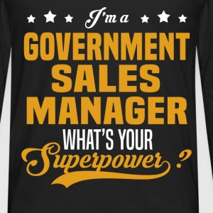 Government Sales Manager - Men's Premium Long Sleeve T-Shirt