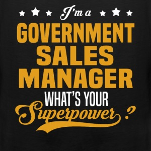 Government Sales Manager - Men's Premium Tank