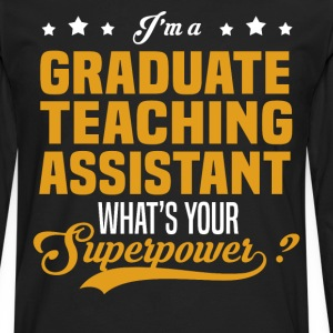 Graduate Teaching Assistant - Men's Premium Long Sleeve T-Shirt