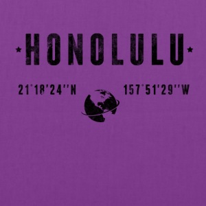 Honolulu T-Shirts - Tote Bag