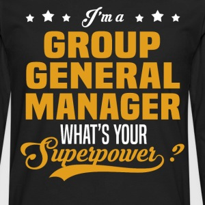 Group General Manager - Men's Premium Long Sleeve T-Shirt