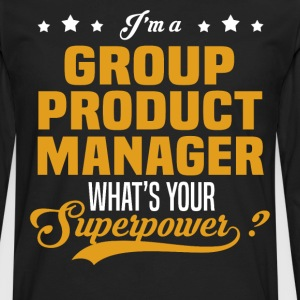Group Product Manager - Men's Premium Long Sleeve T-Shirt