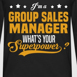 Group Sales Manager - Men's Premium Long Sleeve T-Shirt