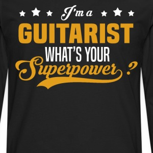 Guitarist - Men's Premium Long Sleeve T-Shirt