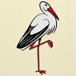 stork T-Shirts - Eco-Friendly Cotton Tote