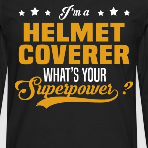 Helmet Coverer - Men's Premium Long Sleeve T-Shirt