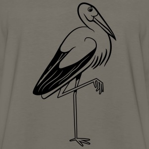 stork T-Shirts - Men's Premium Long Sleeve T-Shirt