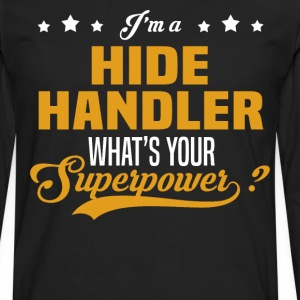 Hide Handler - Men's Premium Long Sleeve T-Shirt