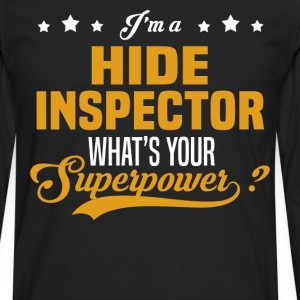 Hide Inspector - Men's Premium Long Sleeve T-Shirt