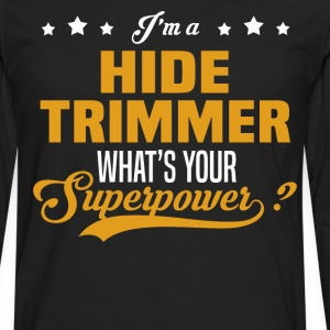 Hide Trimmer - Men's Premium Long Sleeve T-Shirt