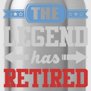 legend 12819829182918291.png T-Shirts - Water Bottle