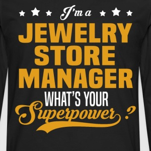 Jewelry Store Manager - Men's Premium Long Sleeve T-Shirt