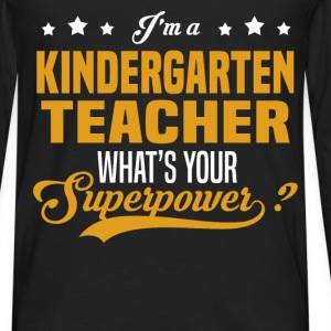 Kindergarten Teacher - Men's Premium Long Sleeve T-Shirt