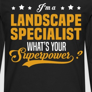 Landscape Specialist - Men's Premium Long Sleeve T-Shirt