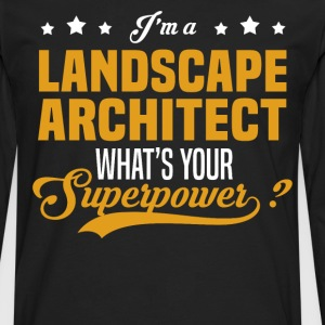 Landscape Architect - Men's Premium Long Sleeve T-Shirt