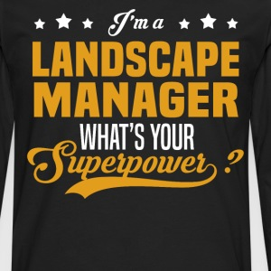 Landscape Manager - Men's Premium Long Sleeve T-Shirt