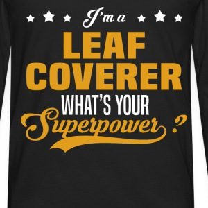 Leaf Coverer - Men's Premium Long Sleeve T-Shirt