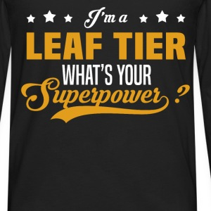 Leaf Tier - Men's Premium Long Sleeve T-Shirt