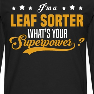 Leaf Sorter - Men's Premium Long Sleeve T-Shirt
