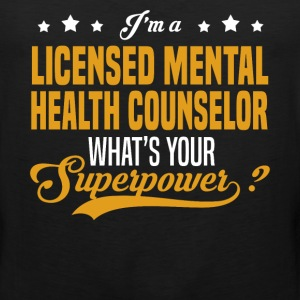 Licensed Mental Health Counselor - Men's Premium Tank