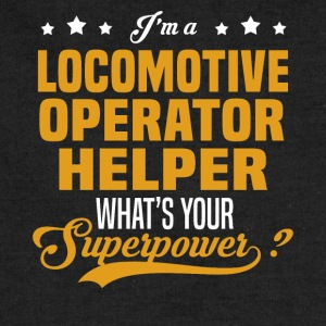 Locomotive Operator Helper - Sweatshirt Cinch Bag