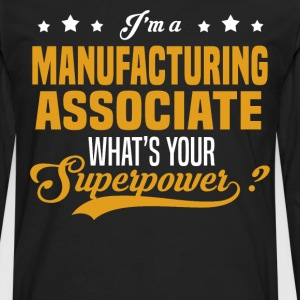 Manufacturing Associate - Men's Premium Long Sleeve T-Shirt