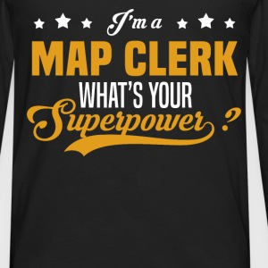 Map Clerk - Men's Premium Long Sleeve T-Shirt