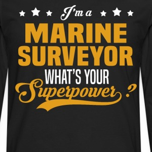 Marine Surveyor - Men's Premium Long Sleeve T-Shirt