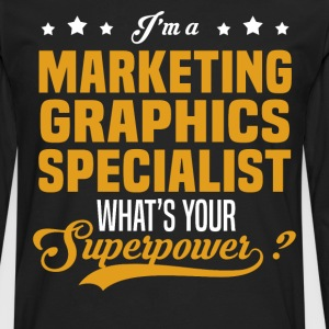 Marketing Graphics Specialist - Men's Premium Long Sleeve T-Shirt