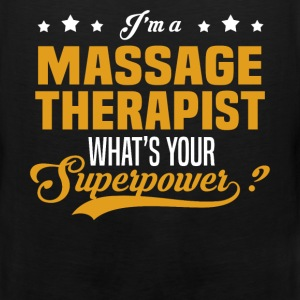 Massage Therapist - Men's Premium Tank