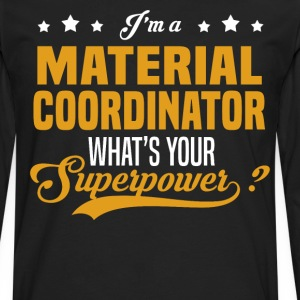 Material Coordinator - Men's Premium Long Sleeve T-Shirt