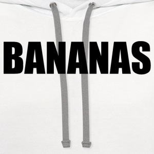 BANANAS T-Shirts - Contrast Hoodie