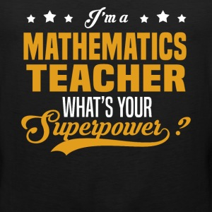 Mathematics Teacher - Men's Premium Tank