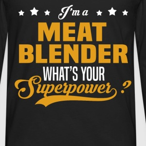 Meat Blender - Men's Premium Long Sleeve T-Shirt