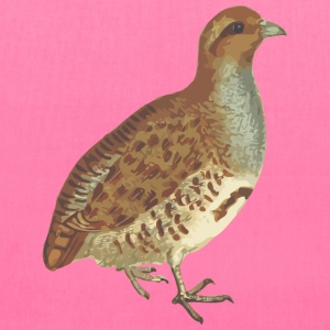 Grey partridge (isolated) - Tote Bag