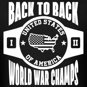 USA Back To Back Champs Hoodies - Men's T-Shirt