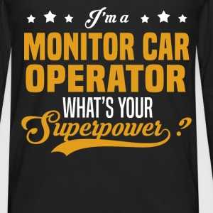 Monitor Car Operator - Men's Premium Long Sleeve T-Shirt