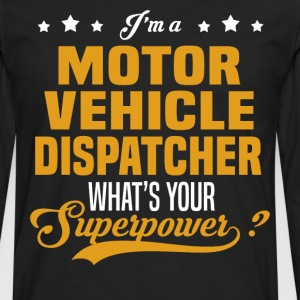 Motor Vehicle Dispatcher - Men's Premium Long Sleeve T-Shirt