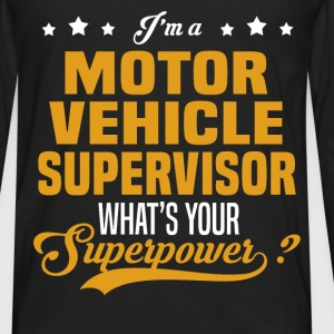 Motor Vehicle Supervisor - Men's Premium Long Sleeve T-Shirt