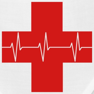 Red Cross First Aid Icon Optimized - Bandana