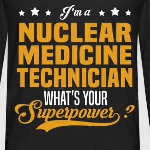 Nuclear Medicine Technician - Men's Premium Long Sleeve T-Shirt