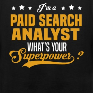 Paid Search Analyst - Men's Premium Tank