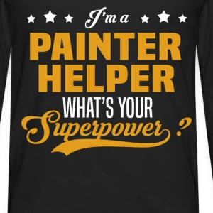 Painter Helper - Men's Premium Long Sleeve T-Shirt