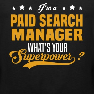 Paid Search Manager - Men's Premium Tank