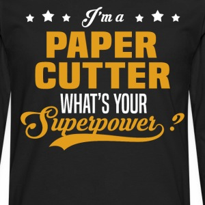 Paper Cutter - Men's Premium Long Sleeve T-Shirt