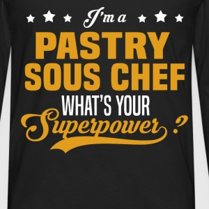 Pastry Sous Chef - Men's Premium Long Sleeve T-Shirt