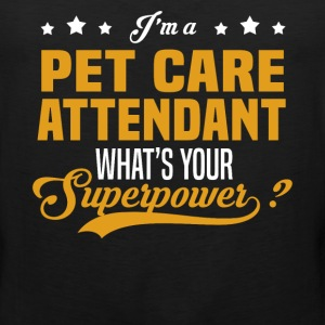 Pet Care Attendant - Men's Premium Tank